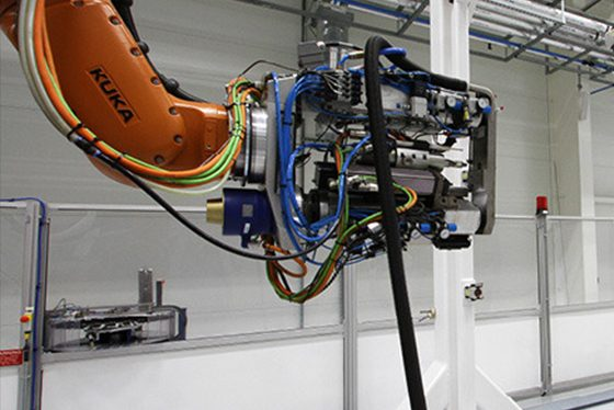 AMRC's robot research cuts cost of producing aircraft