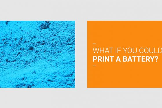 What if you could print a battery?