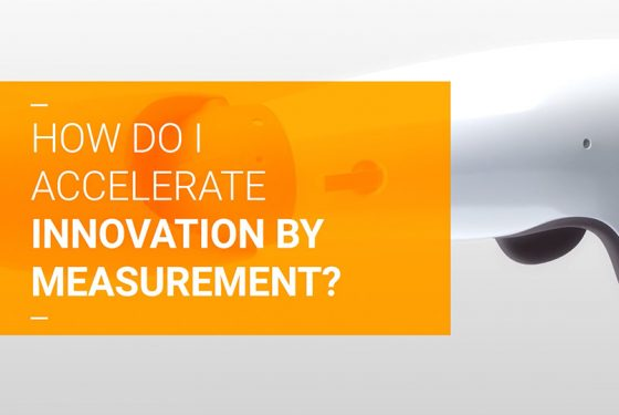 How do I accelerate innovation by measurement?