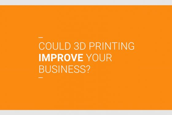 Could 3D printing improve your business?