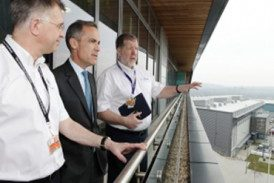 Governor Mark Carney visits AMRC and Nuclear AMRC