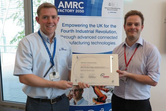 Multiple awards for AMRC project that saved BAE Systems millions of pounds