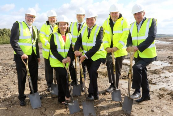Boeing starts construction on its first European production facility in Sheffield
