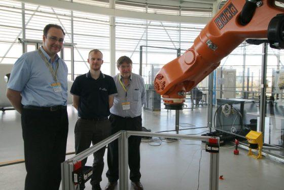 AMRC helps develop novel laser tracker