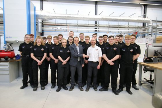 Close Brothers apprentices start at AMRC Training Centre