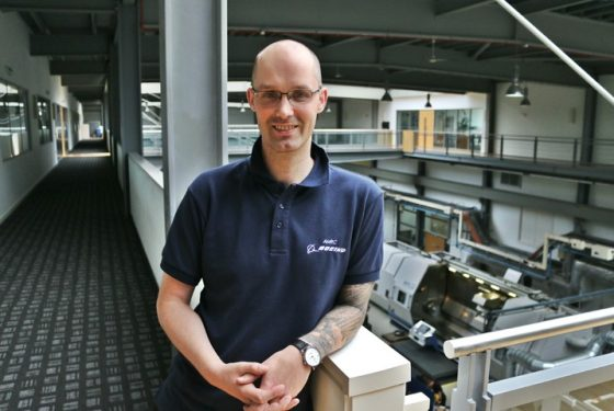 AMRC home to more than one multi-talented engineer