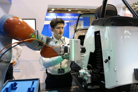 AMRC leads the way in Collaborative Robotics research to help SMEs transform into factories of the future