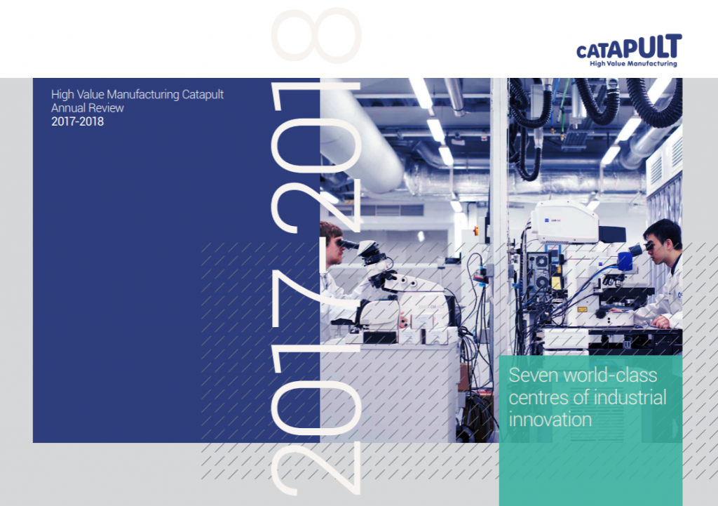HVM Catapult Annual Review 2017-28 cover