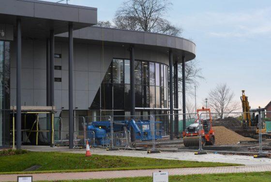 Cutting-edge new CPI healthcare photonics facility nearing completion