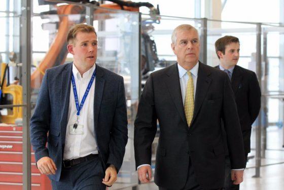 HRH The Duke of York, opens the AMRC's Factory 2050