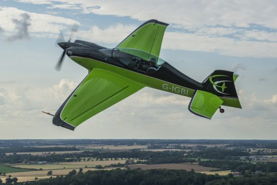 Aerobatic aircraft tested by the AMRC put through its paces at top global airshow