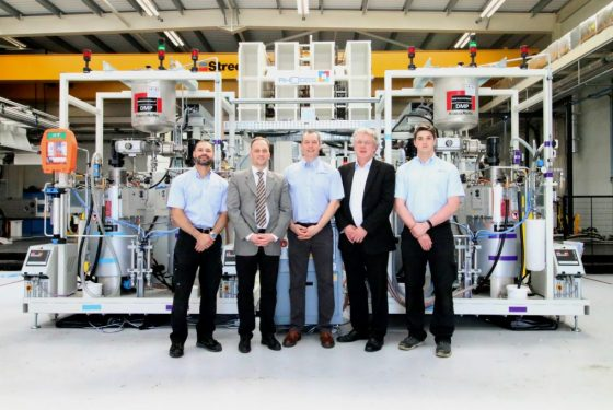 AMRC KraussMaffei high-pressure RTM system & composite press facility ready for R&D projects