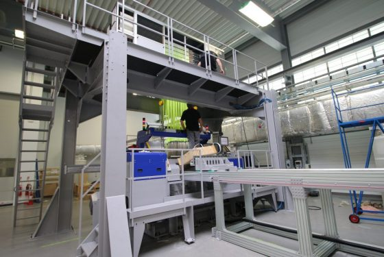 Cutting edge technology under construction at AMRC to take carbon fibre weaving to new dimension
