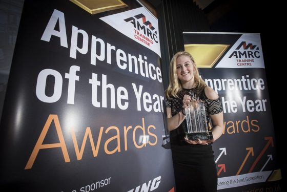 Award-winning Apprentice of the Year Leigh Worsdale