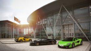 New McLaren Automotive Composites Technology Centre announced