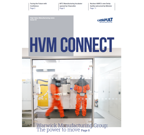 HVM Connect Issue 3 cover