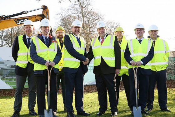 Construction begins on the National Healthcare Photonics Centre