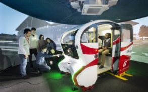 Driverless pods company close to taking poll position in a global race to market