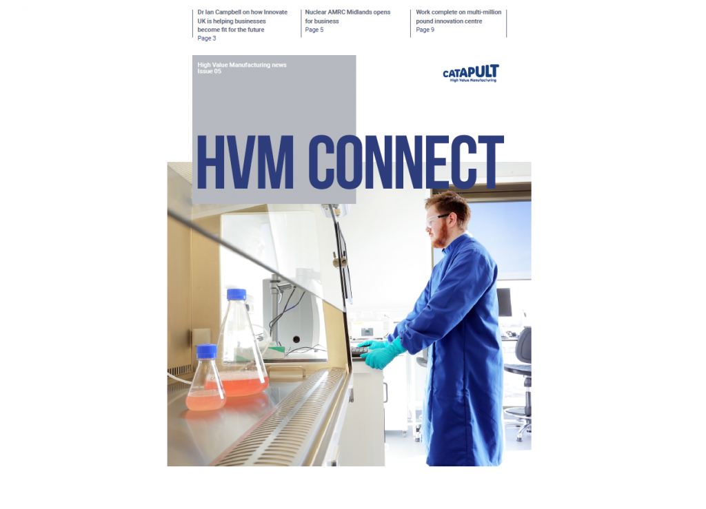 HVM Connect Issue 5 cover