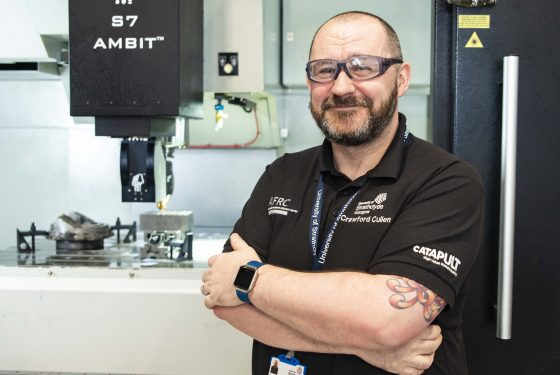 The AFRC combines machining and additive manufacturing on the first hybrid platform of its kind in Scotland