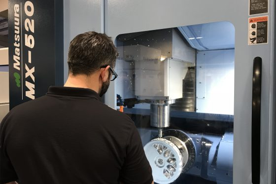 The AFRC partners up with Matsuura to accelerate the use of innovative machine tool technology across Scottish firms