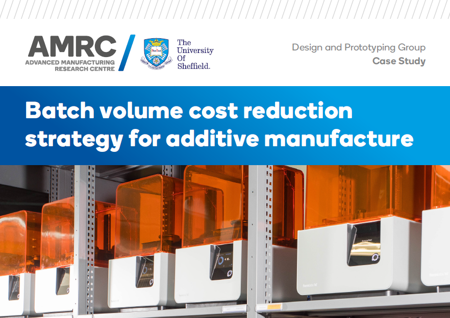 AMRC batch volume cost reduction banner