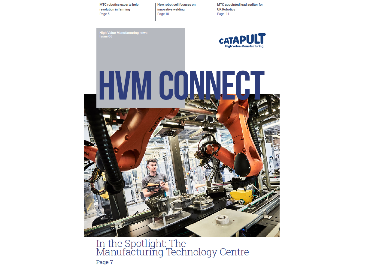HVM Connect Issue 6 cover