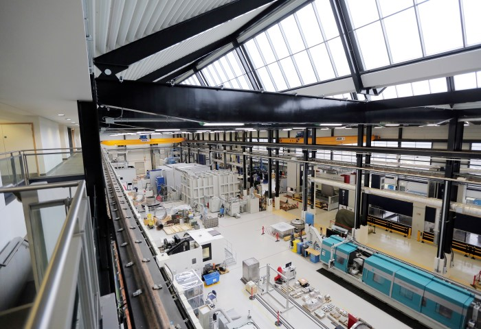 Pictured: NAMRC facility, internal, from above