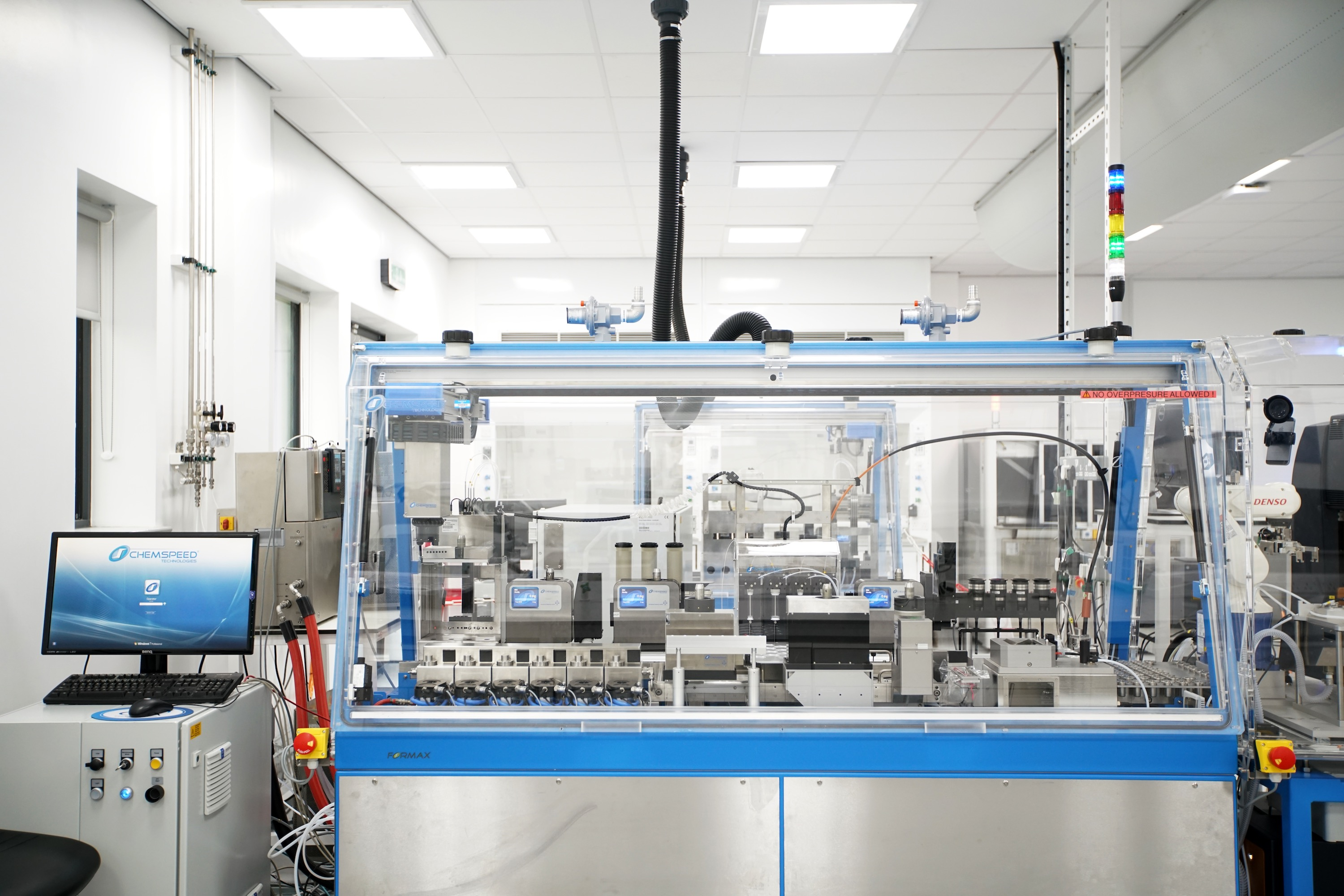 Innovative nanomaterial and composite manufacturing equipment