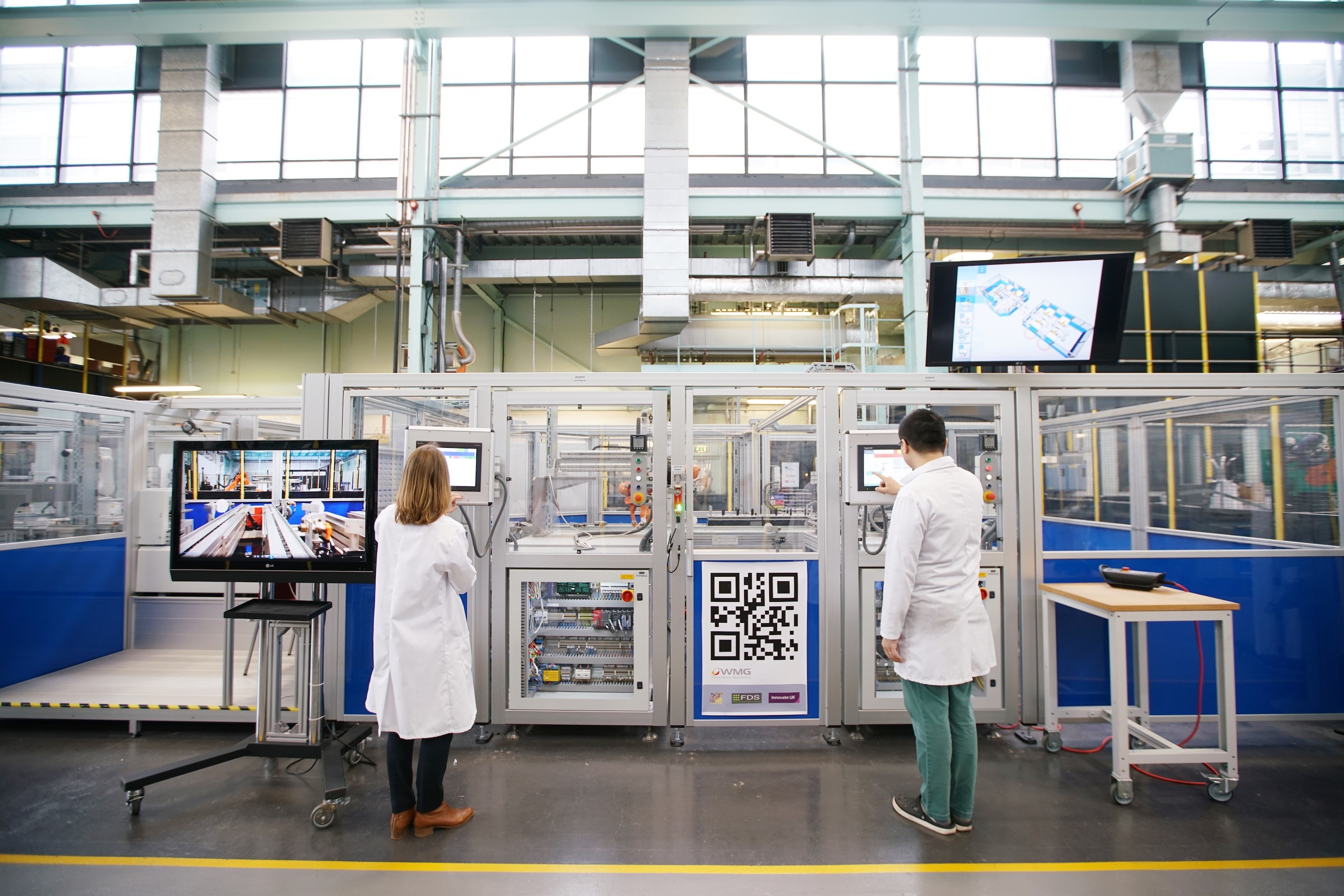 Digital Manufacturing technologies in the factory