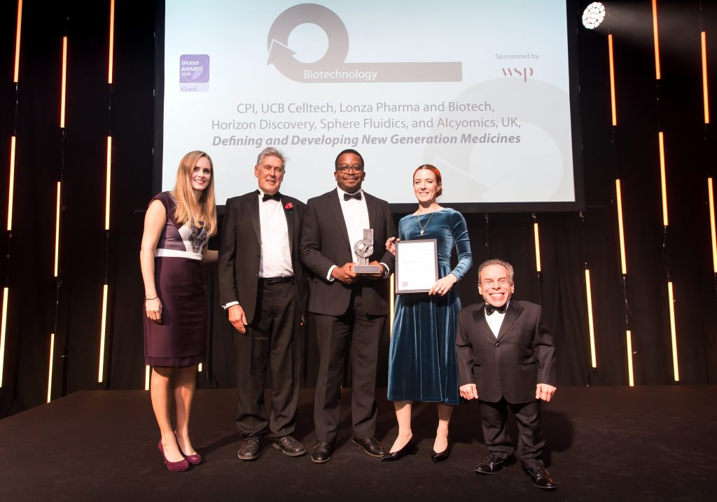 CPI team at the IChemE Global Awards