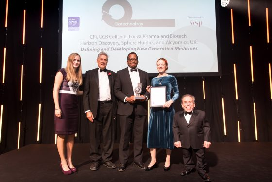 CPI win global Biotech Award