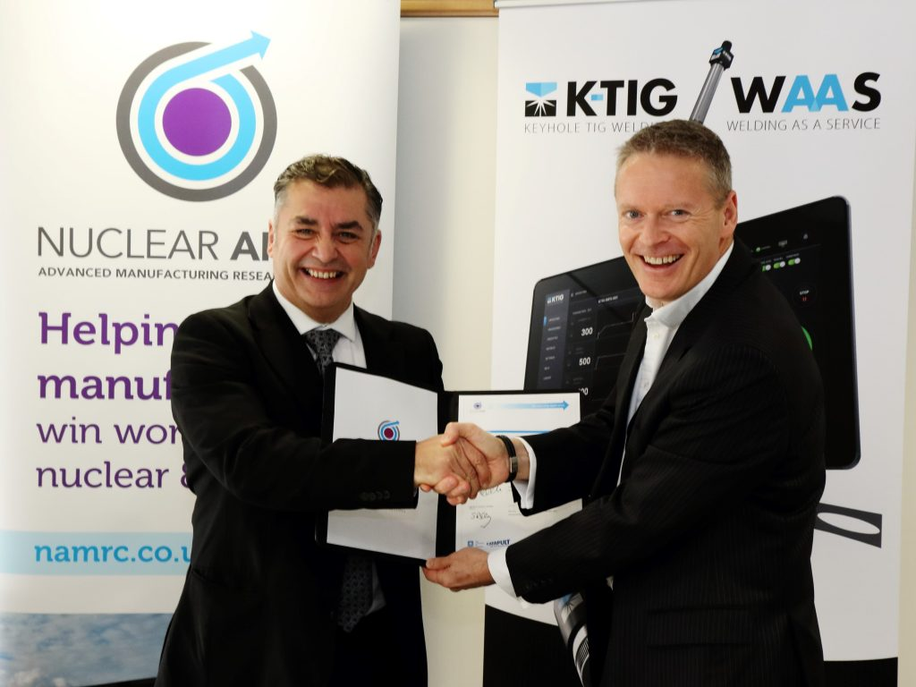 Nuclear AMRC and K-TIG shake on the agreement