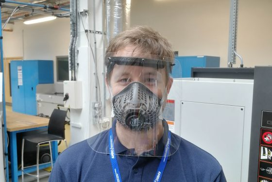 AMRC 3D prints protective face shields for NHS workers