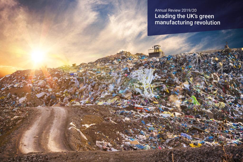 Saving waste from landfill
