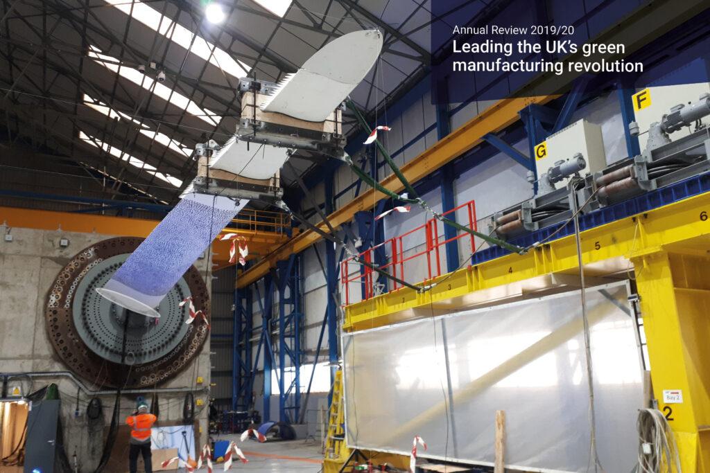 Better, cheaper blades for offshore wind energy