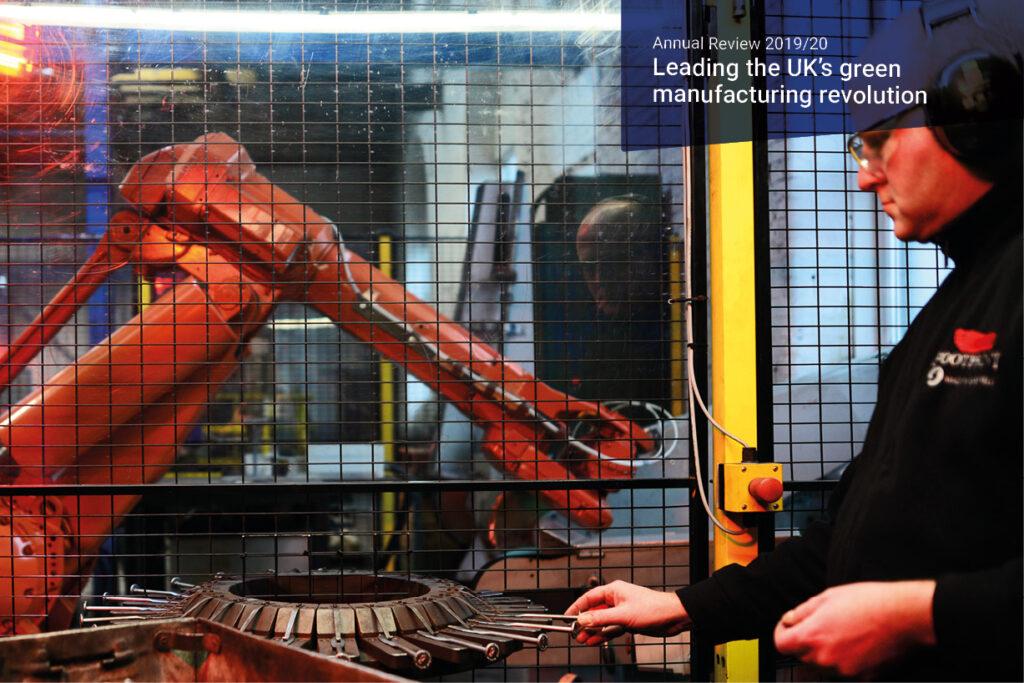 Manufacturing robot saves skilled jobs