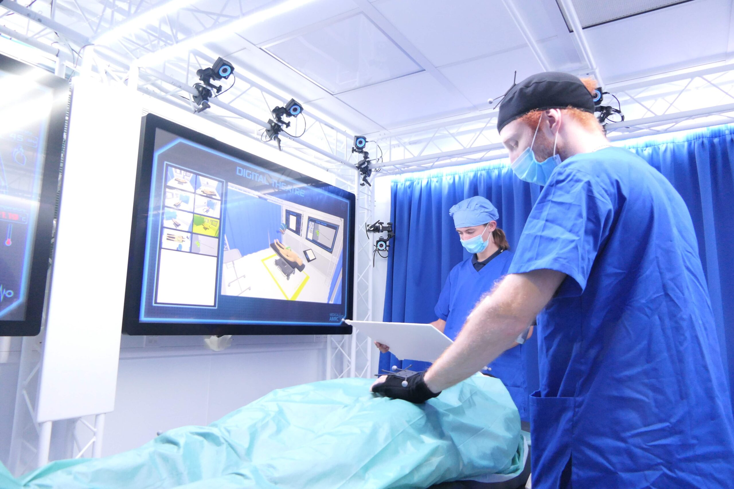 The Digital Operating Theatre proof of concept demonstrator at the AMRC in Rotherham.